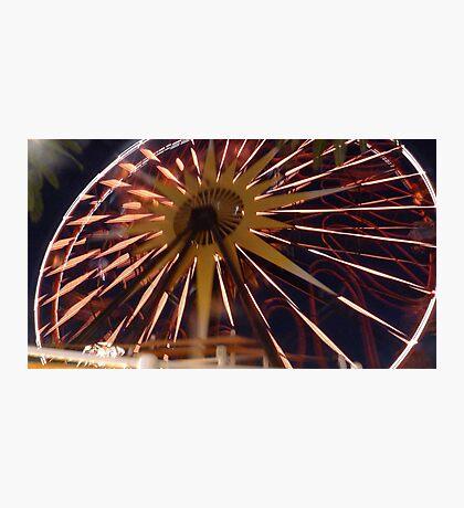 Fun Wheel Glow Photographic Print