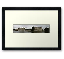 Leeds Castle Panorama Framed Print