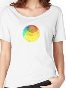 Color Sphere Women's Relaxed Fit T-Shirt
