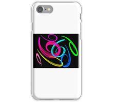 Colour swirls  iPhone Case/Skin