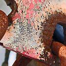 rust/pink/metal by Lynne Prestebak