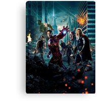 Avengers Movie Canvas Print