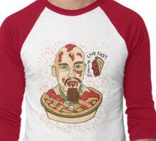 Live Fast Pie! GG Allin Tribute Men's Baseball ¾ T-Shirt