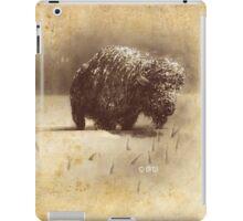 Morning Bison 2 iPad Case/Skin