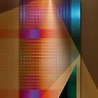 Multicolored abstract by dominiquelandau