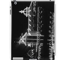 The Grotto - Black & White at Night iPad Case/Skin