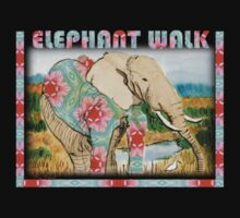 Baby Elephant Walk by Nira Dabush