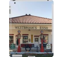 Westbrook's Filling Station iPad Case/Skin