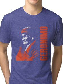 GERONIMO-APACHE 2 Tri-blend T-Shirt