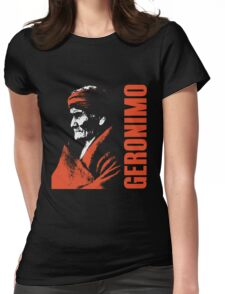GERONIMO-APACHE 2 Womens Fitted T-Shirt