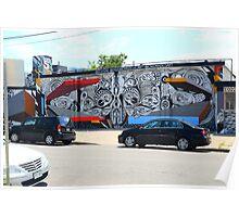 Denver Street Art Mural Poster