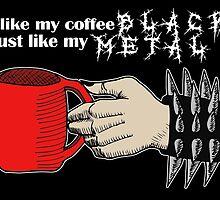 Black Metal Coffee by HomicidalHugz