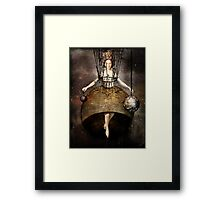 The world Framed Print