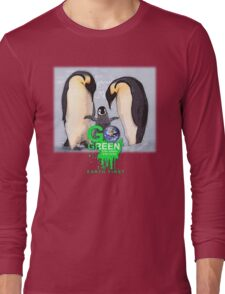 stay green penguin Long Sleeve T-Shirt
