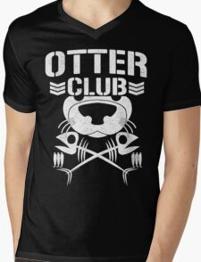 """Otter Club: It's Reeeeeeal !!"" Mens V-Neck T-Shirt"