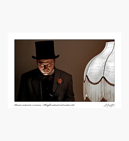 Pensiero, sentimento e emozione - Thought, sentiment and emotion, 2010 Photographic Print