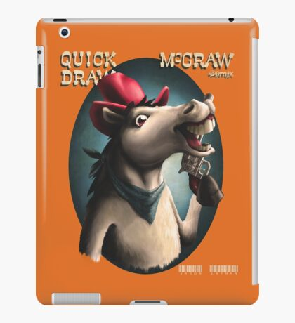 Quick Draw McGraw, the Remix iPad Case/Skin