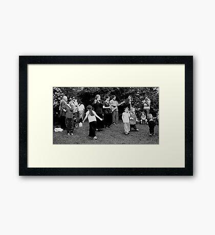 Folk  Framed Print