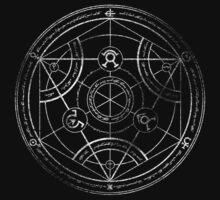 Human transmutation circle - chalk Kids Clothes