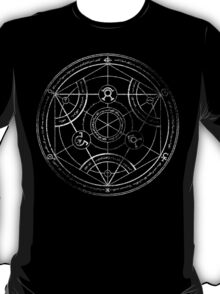 Human transmutation circle - chalk T-Shirt