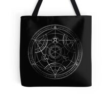 Human transmutation circle - chalk Tote Bag