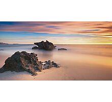 Big Rock Little Rock II Photographic Print