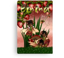 Under The Strawberry Bush - For Emma With Love xx  Canvas Print