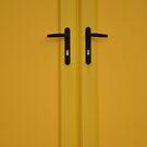 Yellow Doors by sylentbob