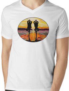 surf art Mens V-Neck T-Shirt