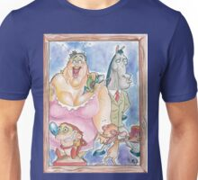 Ren and Stimpy Family Portrait Unisex T-Shirt