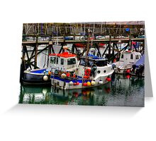 The Harbour #2 Greeting Card