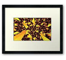 'Into the Prismatic Matrix' Framed Print