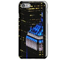 NYC in BLUE iPhone Case/Skin