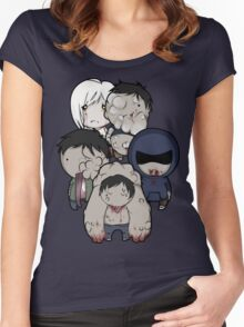 Left 4 Dead Infected Women's Fitted Scoop T-Shirt