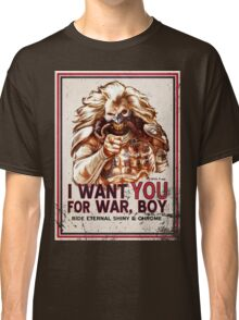 I Want YOU for WAR, BOY (dark colors) Classic T-Shirt