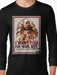 I Want YOU for WAR, BOY (dark colors) Long Sleeve T-Shirt