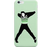 Green Ombre Elvis iPhone Case/Skin