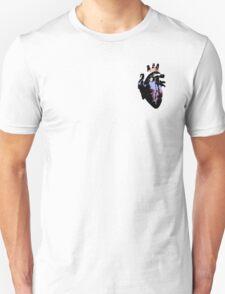 Genderflux Pride Heart (with black detail) T-Shirt