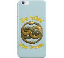 Do What You Dream iPhone Case/Skin