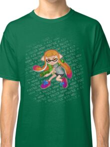 Splatoon Inkling Girl Classic T-Shirt