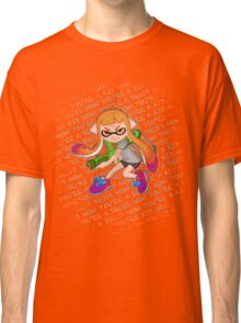Splatoon Inkling Girl Classic T-Shirt
