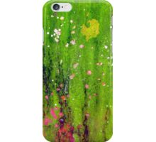 Pink Flowers in Meadow iPhone Case/Skin