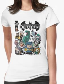 Batbeans and friends Womens Fitted T-Shirt