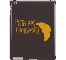 Peeta Has Croissants - Yellow iPad Case/Skin