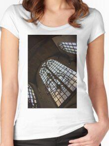 Light Women's Fitted Scoop T-Shirt