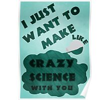 Crazy Science Poster