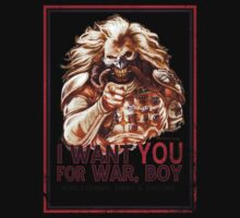 I Want YOU for WAR, BOY Kids Tee