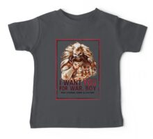I Want YOU for WAR, BOY Baby Tee