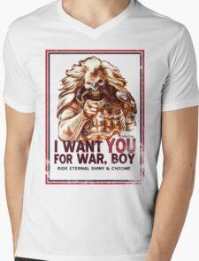 I Want YOU for WAR, BOY Mens V-Neck T-Shirt