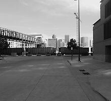 Denver in black and white by Jackson Killion